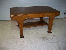 Beautiful Quarter Sawn Oak Paine Partners Desk