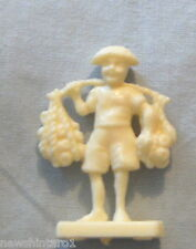 1973 SANITARIUM CEREAL FOOD TOY - MINI EXOTIC NATIONAL COSTUMES - JAVA