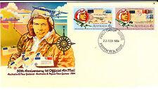 1984 Australia & New Zealand & Png 1st Official Mail - Perth Wa 6000 Pmk