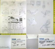 1995 TYCO HAUNTED HIGHWAY Slot Car Set INSTRUCTION 6238