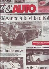 la vie de l'auto 16 mai 1996 - numero 750  villa d'este -- salon d'anvers