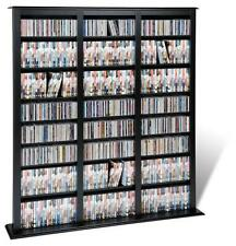 """Prepac Barrister Tower holds 1200 CDs in Black BMB-1200-K , 57"""" x 63.75"""" x 9.5"""""""