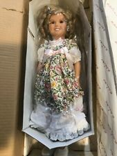 The Shirley Temple Dress Up Doll w. 8 outfits