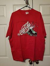Vintage Coca Cola Classic Pop The Top Graphic Design T Shirt Size XL