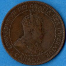 Canada 1903 1 Cent One Large Cent Coin - Very Fine