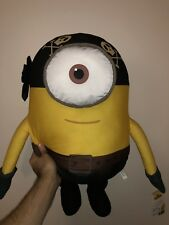 NEW MINION PIRATE PLUSH TOY FACTORY STUFFED DOLL MOVIE DESPICABLE ME PILLOW 20""