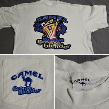 Vintage Camel Joe Cigarettes Groove Blender 1996 Graphic T-Shirt XL Made in USA