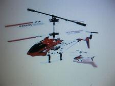 3 ch télécommande hélicoptère 9002 avec gyro led lumières cadre en métal