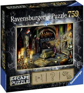 RAVENSBURGER. ESCAPE PUZZLE. VAMPIRE CASTLE. 759 PCS. ITEM NR. 19961 NEW