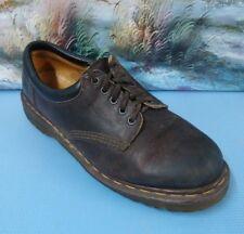 Dr. Doc Martens 8053 Brown Gaucho Plain Toe 5 Eye Casual England Oxfords Men'