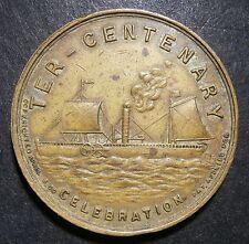 USA medallion - Hudson Fulton Ter-Centenary 1909 Celebration - rare 32mm