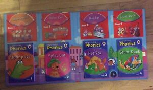 Phonics Reading Book Collection 4 Books and 4 CDs. Ladybird. learn to read
