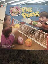 Vintage 1986 Pig Pong Milton Bradley Tabletop Game *NOT COMPLETE*