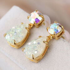 Kate Spade Glitter Teardrop Shine On Multicolor Yellow Crystal Drop Earrings