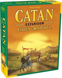 Catan Expansion - Cities & Knights, Trade Build Settle, Settlers Of