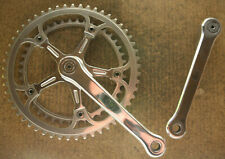 Vintage Campagnolo non-fluted Super Record cranks crankset chainset kurbeln