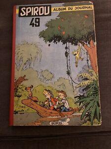 Bd Spirou album du journal EO 1954 Franquin BE