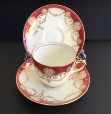 Royal Doulton Tasses & 2 SOUCOUPES-Herbert betteley 1928-BB2609/V192
