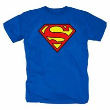 Superman Comic Batman Figur Held T-Shirt S-3XL blau