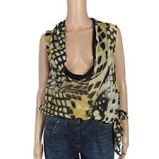 Silk Cowl Neck Regular Sleeve Tops & Shirts for Women