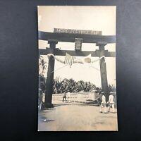 Zamboanga Moro Province Fair Postcard Mindanao Philippines 1911 Antique Vtg RPPC