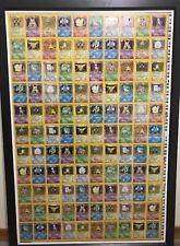 Pokemon Uncut Sheet Unlimited Base Set HOLO WOTC X 7 CHARIZARD!!!