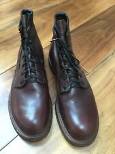 Red Wing Beckman Boots -Cherry Featherstone Leather UK9.5 EU44 US10