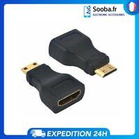 Cable Adaptateur Convertisseur Mini HDMI mâle vers HDMI Femelle Rallonge 1080p