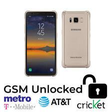 Samsung Galaxy S8 Active SM-G892 - 64GB Titanium Gold (GSM Unlocked) Smartphone
