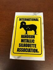 IHMSA International Handgun Metallic Silhouette Association Sticker