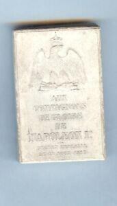 Médaille - SAINT HELENE boîte originale et médaille NAPOLEON III
