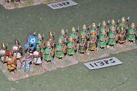 25mm biblical / hebrew - spearmen 24 figures - inf (11385)