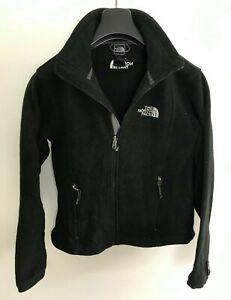 Womens The North Face Fluffy Fleece Jacket / Coat size UK XS/S Black #8