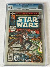 Star Wars # 28 (10/79) CGC Graded Bronze Age Comic 9.6 NM+ OW/W Jabba the Hut