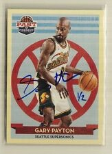 2014-15 Paramount Gary Payton Past & Present Buyback On Card Auto SP (1/2)