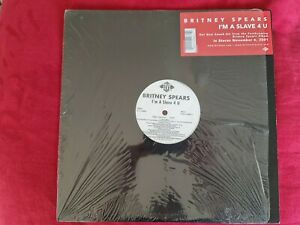 Britney Spears I'm A Slave 4 U Original Vinyl EP Record with Instrumental