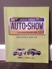 2009 Philadelphia Auto Show Program Book Newest Cars Catalog Buyer's Guide New