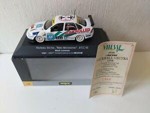 Onyx 1/43 Mint Motorsport Vauxhall Vectra M. Lemmer - #16 BTCC 1998 - XT125