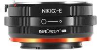 K&F Concept Matting Varnish Design Nikon F/AI/G Lens to E/NEX Lens Mount Adapter