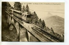 31 LUCHON Train Chemin de fer à Crémaillere de SUPERBAGNERES E15-2017