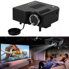 PROIETTORI LED MINI VIDEOPROIETTORE CINEMA HD PC USB SD AV HDMI VGA PORTATILE