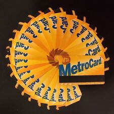 NYC MTA METROCARD Lot of 110