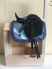 Traditional Scale English Saddle Pad Blanket Model Horse XC SJ For Breyer Resin