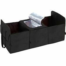 Black Car Trunk Organizer Cooler Storage Bags Collapsible valise universal AUTO