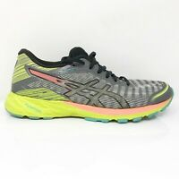 Asics Womens Dynaflyte T6F8Y Gray Volt Running Shoes Lace Up Low Top Size 8.5