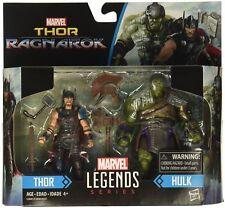 Marvel Legends Thor Ragnarok Thor & Hulk 2-Pack Set Action Figures Collectibles