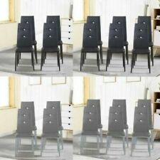Chaises gris pour la maison salle à manger