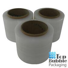 Clear Bundling Film - 100mm x 300m 20um 3 Rolls FREE SHIPPING Stretch Wrap Small