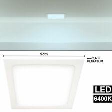 LED Decken Aufbau Panel Tageslicht Lampe Büro Beleuchtung ALU Strahler Leuchte