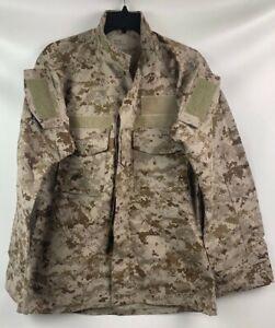 New US Navy NWU Type II Desert Uniform Blouse Shirt Small Regular AOR1 SEAL